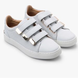 Also Velcro sneakers